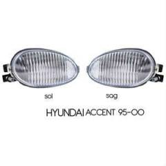 Hyunda� Accent 95-2000 Sis Far� Beyaz