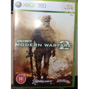 XBOX 360 CALL OF DUTY MODERN WARFARE 2 TEM�Z