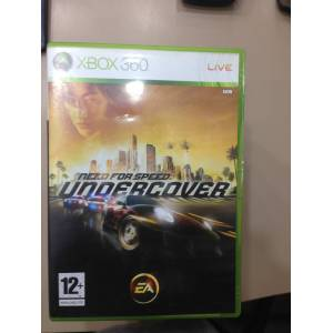 XBOX 360 NEED FOR SPEED UNDERCOVER TEM�Z PAL