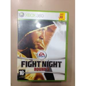 XBOX 360 FIGHT NIGHT ROUND 3 TEM�Z PAL
