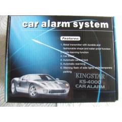 KINGSTAR KS-4000 OTO ALARM S�STEM�
