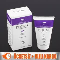 +Deotak Un�sex Soft Deodorant Krem 35ml