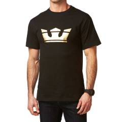SUPRA T-shirt Icon Black Gold S5211401