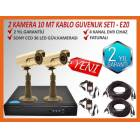 2*36 Led Sony Ccd Gece G�r�� Kameral� Set -E20