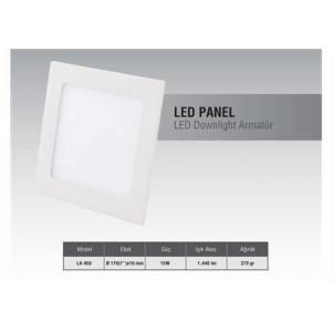 Goldmaster LA-450 7'' 15 Watt Panel Led