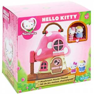 MantarEv Hello Kitty Oyuncak MANTAR EV OYUN SET�