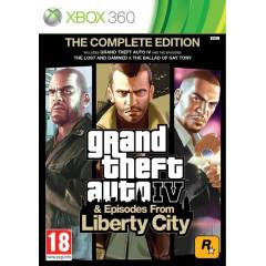 GTA 4 THE COMPLETE EDITION XBOX 360 PAL
