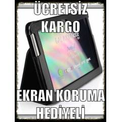 Amazon Kindle Fire HD STAND KILIF+EKRAN KORUMA