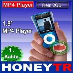 "1.8"" 4GB RADYOLU LCD EKRANLI MP3 MP4 PLAYER"