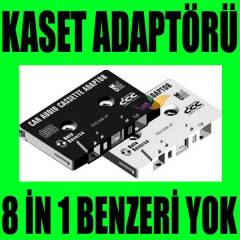 Stereo Mp3 Mp4 leriniz ��in Oto Kaset Adapt�r�