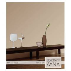PARTY AYNA STICKER 21,6x21,3 CM