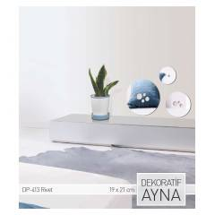RIVET AYNA STICKER 19,4x21,5 CM