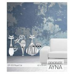ROYAL CAT AYNA STICKER 62,8x35 CM