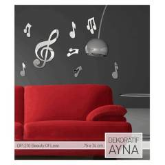 BEAUTY OF LOVE AYNA STICKER 75x74 CM