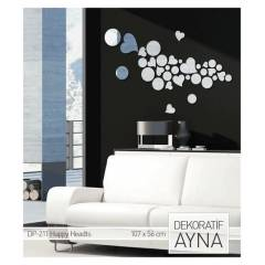 HAPPY HEARTS AYNA STICKER 107x56 CM