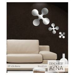 ATOMIC AYNA STICKER 56x63,8 CM