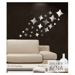 TWINKLING AYNA STICKER 99x82 CM