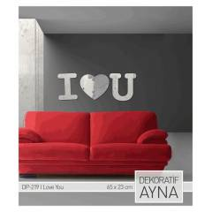I LOVE YOU AYNA STICKER 65,8X23 CM