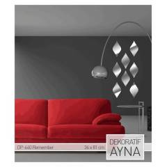 REMEMBER AYNA STICKER 36x81 CM