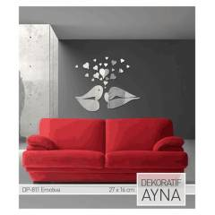 EMOTIVA AYNA STICKER 20,8x19 cm / 27x16 CM