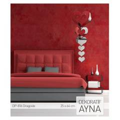 DRAGOSTE AYNA STICKER 25x64 CM