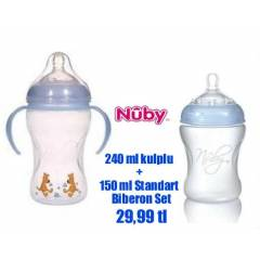 Nuby Natural Touch Do�al Beslenme Biberonu Seti
