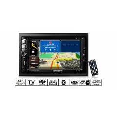 Kamosonic KS-ND 7620 TV/DVD/USB/GPS Oto Teyp