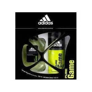 ADIDAS PURE GAME SET 100ML EDT+ ERKEK PARF�M