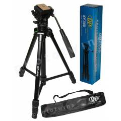 DP-450 Video ve Foto�raf ��in Profesyonel Tripod
