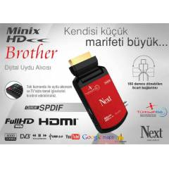 Next Minix Full HD BROTHER Uydu Al�c�     YEN�