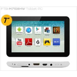 "FRISBY 7"" TABLET PC 8GB HDMI ��FT KAMERA"