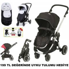 Kiddy Clickn Move 3 �ift Y�nl� L�x Bebek Arabas�