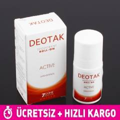 Deotak Un�sex Active Deodorant Roll-On 35ml