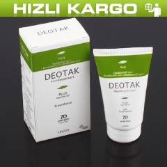 -Deotak Un�sex Plus Deodorant Krem 35ml