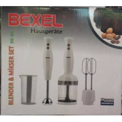 BEXEL BLENDER+ M�KSER + RONBO SET BB60