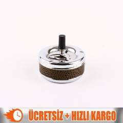 +Ashtray Dc-0154 Orta Metal Basmal� K�ll�k