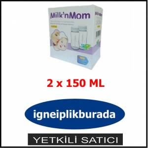 MILK & MOM ANNE S�T� SAKLAMA KABI (2 x 150 ML)