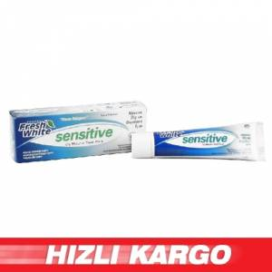 -Fresh White Di� Macunu Sensitive 90gr