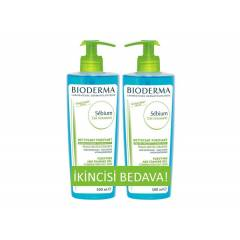 Bioderma Sebium Foaming Gel 500ml 1Alana 1Bedava