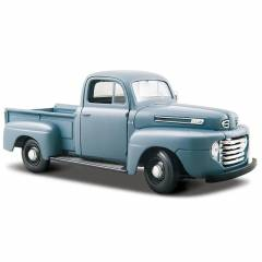 Maisto Ford-1 1948 1:24 Model Araba S/E Metalik