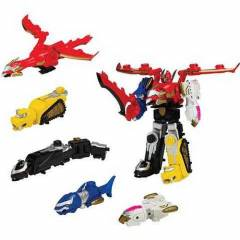 Power Rangers Megaforce Morph Gosei Great Megazo