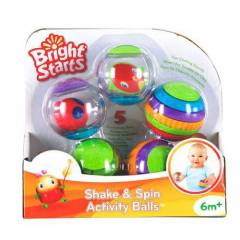 Bright Starts 9079 Shake ve Spin Activity Balls