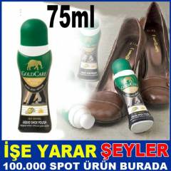 GOLD CARE S�YAH 75ml L�K�T AYAKKABI BOYASI