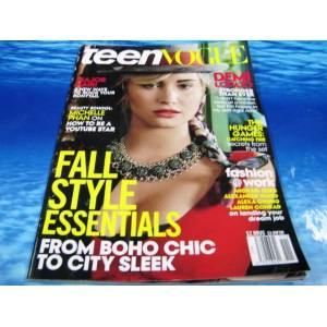 YABANCI DERG� TEEN VOGUE 2013 DEMI LOVATO