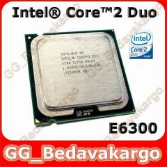 iNTEL Core 2 Duo E6300 i�lemci - S�f�r