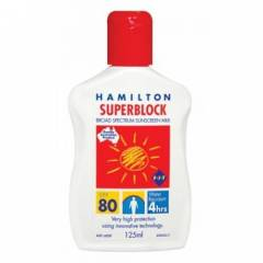 Hamilton Superblock Spf 80 125 ml