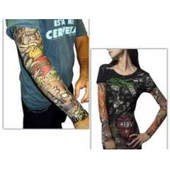 Tattoo Sleeves Giyilebilir D�vme