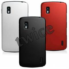 LG   Nexus 4 KILIF E960 SERT RUBBER  HARD CASE