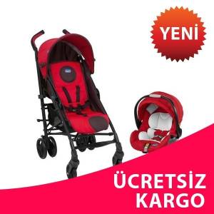 Chicco Lite Way Plus Bebek Arabas� Fire