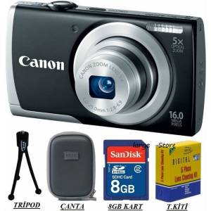 CANON A2500 16 MP HD 5x Zoom Foto�raf Makinas�
